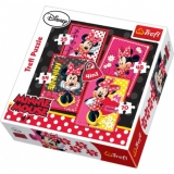 Puzzle Minnie Mouse 4v1