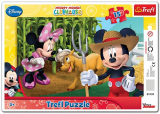 Puzzle Mickey Mouse Farma 15 dílků