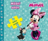 Kniha Puzzle Minnie Mouse