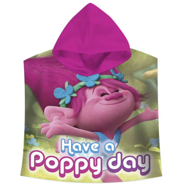 Pončo Trollové Poppy day
