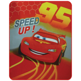 Fleece deka Cars speed up