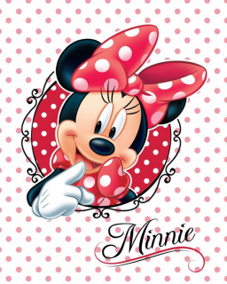 Micropolar fleece deka Minnie