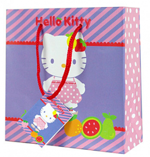 Dárková taštička na CD/DVD Hello Kitty fruity