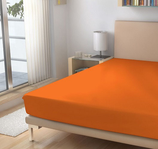 oranzove prosteradlo, barva 15